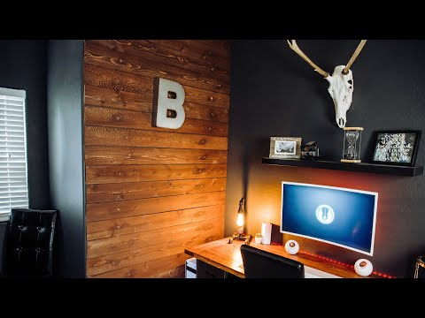 DIY Building A Wood Accent Wall