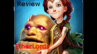 Etherlords Gameplay / Tutorial (IOS-iPhone)