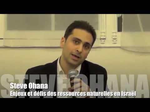 Enjeux et defis des ressources naturelles en Israël par Steve Ohana