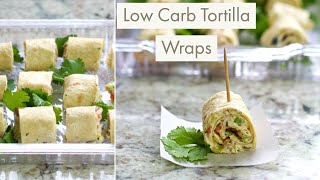 These low carb tortilla wraps are a super simple, delicious, and filling appetizer to serve at any gathering or party! just stick them on tray they wil...