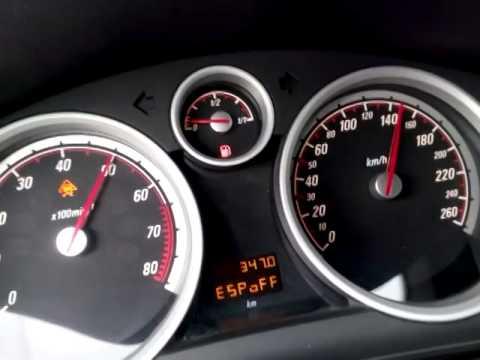 2007 Opel Astra GTC 1.6 Turbo 180hp (Z16let) Stock 0-100 km 6.8 sec.