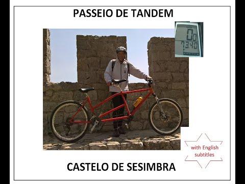 PASSEIO DE TANDEM : CASTELO DE SESIMBRA