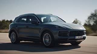 The new Porsche Cayenne in motion. thumbnail