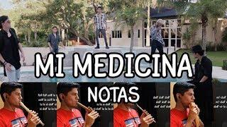 Mi medicina - CNCO -  Notas (Flauta dulce, Quenilla, Tin Whistle, Zampoña)