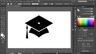 How to Draw a Graduation Cap in Adobe Illustrator