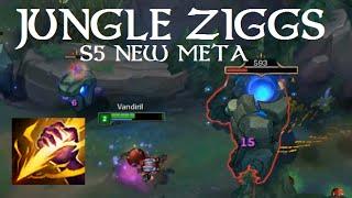 Jungle Ziggs Guide!! (S5 RIP)
