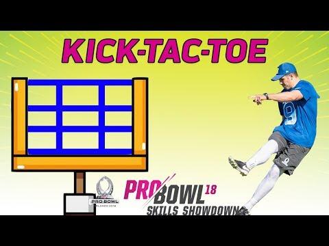 Kick-Tac-Toe: 2018 Pro Bowl Skills Showdown | NFL Highlights