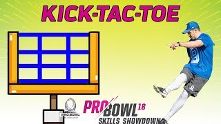 Kick-Tac-Toe: 2018 Pro Bowl Skills Showdown | NFL Highlights