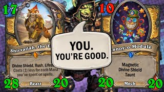 THIS. GAME. Secret Paladin Shouldn't Be Able to Do This!? | Hearthstone