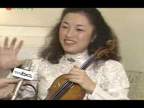 Kyung Wha Chung plays Stravinsky Violin Concerto (4th Mov)