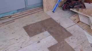 Golden Gate Enterprises Waterproof Deck Contractor Cricket Framing Alamo