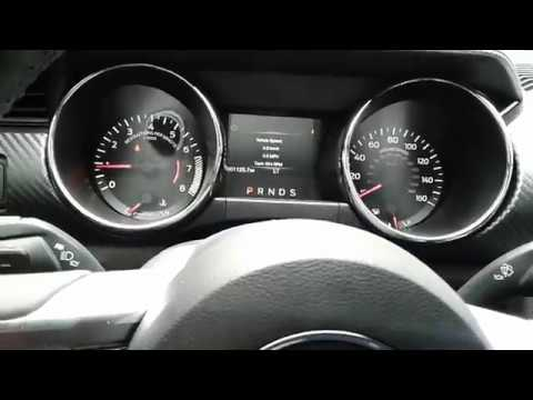 2017 Ford Mustang Digital Sdometer