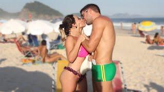 Kissing Prank - SEXY GIRLS IN BIKINI EDITION