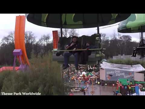 Toy Soldiers Parachute Drop On Ride HD POV Walt Disney Studios