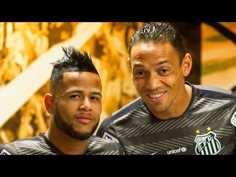 Santos 3 x 0 Coritiba | BASTIDORES | Brasileirão (08/08/15)