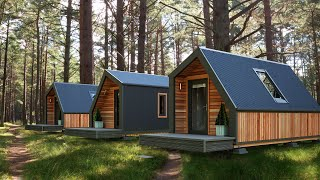 Loom Crafts introduces Luxury Prefab Steel Modular Cottages & Homes