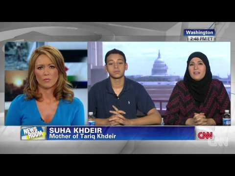 Palestinian-American recounts beating by Israeli police