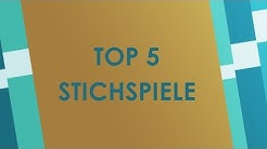 Top 5 Stichspiele - Trick-taking