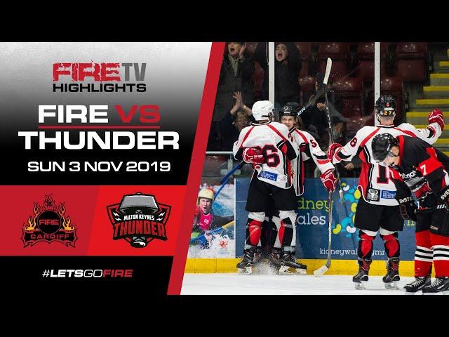 Cardiff Fire v Milton Keynes Thunder 03/11/19