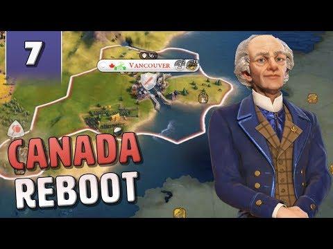 Скачать [7] Civilization 6 Canada Reboot - Civ 6 Gathering Storm with June  Update - смотреть онлайн - Видео