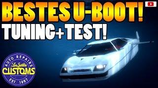 🚘🛠Das Beste U-Boot Auto STROMBERG Tuning + Test!🛠🚘 [GTA 5 Online Doomsday Heist Update DLC]