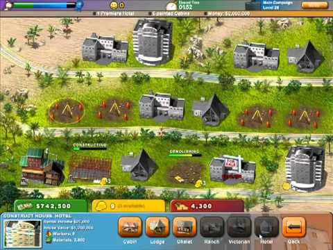 Build a lot on vacation main campaign level 26 youtube Building on a lot