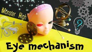✂cut eyes 🔥 Eye mechanism for dolls ooak 👀 Monster high repaint custom interchangeable eyes