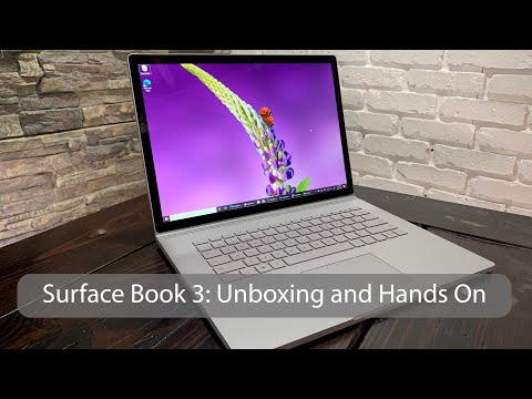 Surface Book 3: Unboxing and Hands On