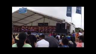 St Pauls College - Polyfest 2013 Samoan Group Part 1