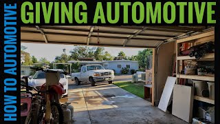 Driving the Ford Truck After Sitting for 4 Years. Episode 4 of Giving Automotive
