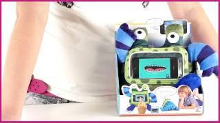 Wise Pet. Мягкая игрушка Stripy с прозрачным карманом для смартфона (119 133)(Как получить скидку на это товар? Узнай на http://www.kupirebenku.ru/help/form_anketa.php., 2013-03-28T13:49:56.000Z)