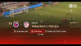 Veracruz vs Toluca Invitación