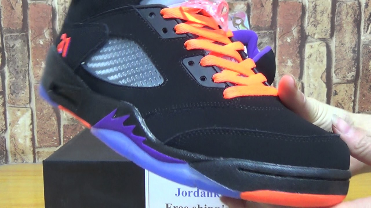 551e78bf5436 Authentic Air Jordan 5 Shawn Marion PE - YouTube