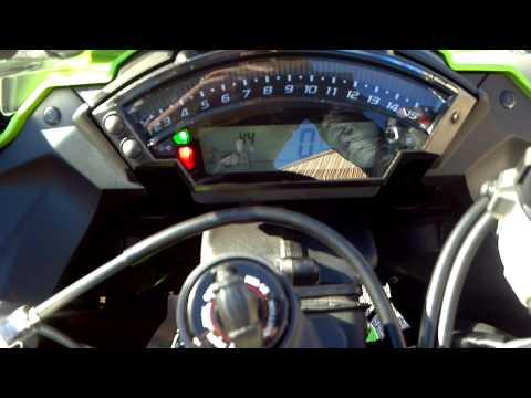 Kawasaki Zx10r Dash Function And Start Up Alcoa Good Times