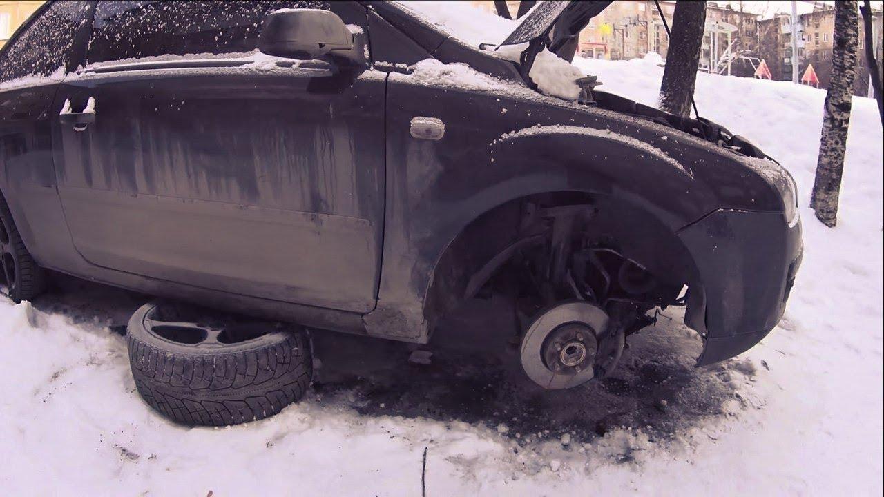 Упал двигатель на форд фокусе. Ремонт Ford Focus 2