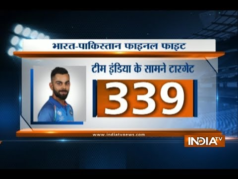 India vs Pakistan, ICC Champions Trophy 2017: Rohit falls for duck in chase of 339