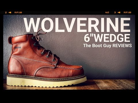 "WOLVERINE MOC-TOE 6"" WORK BOOT  #W08288 [ The Boot Guy Reviews ]"