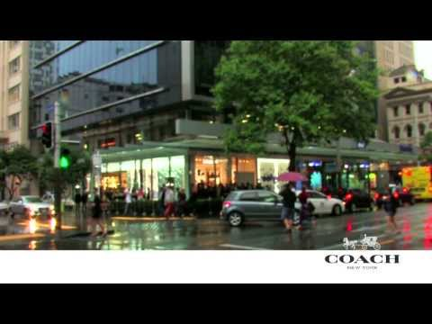 Coach Auckland Store Opening