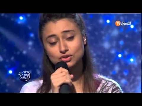 Algerian young girlsings turkish song