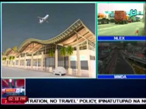 News@1: Isang bagong airport, itatayo sa Palau Island, Bohol || Apr. 1, 2015