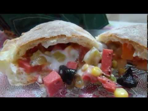 بيتزا تركية مغطاة ( رووووعة ) pizza couverte thumbnail
