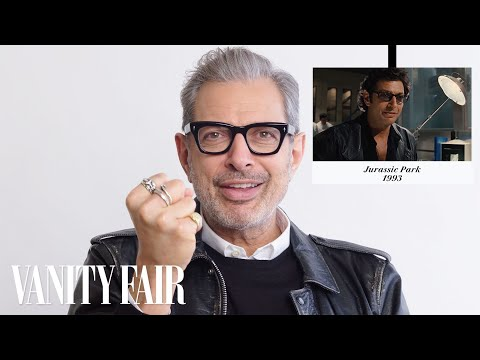 "Jeff Goldblum Breaks Down His Career, From ""Jurassic Park"" to ""Isle of Dogs""  Vanity Fair"