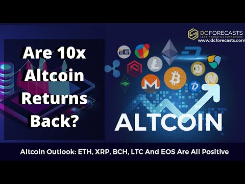 Bitcoin, EOS & Ethereum SURGE! Are The Days of Altcoin 10x Returns Back?