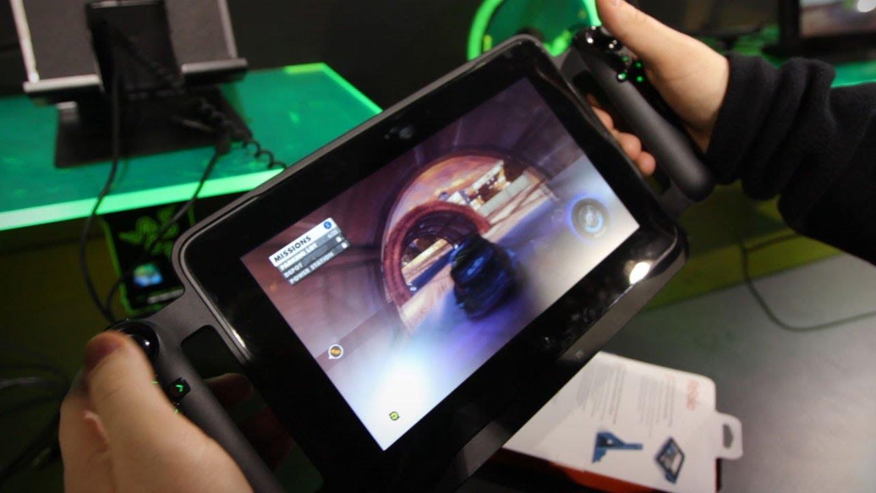 Razer Edge Pro Gaming Tablet Windows 8 Hands On Youtube