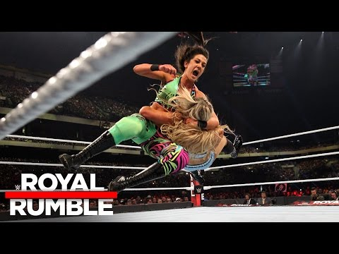 Charlotte Flair vs. Bayley - Raw Women's Championship Match: Royal Rumble 2017