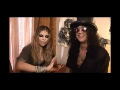 Behind The Scenes of Beautiful Dangerous - Slash feat. Fergie
