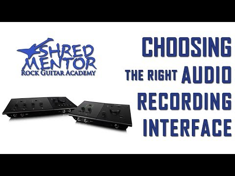 Choosing Your Recording Interface for Songwriting & Home Recording