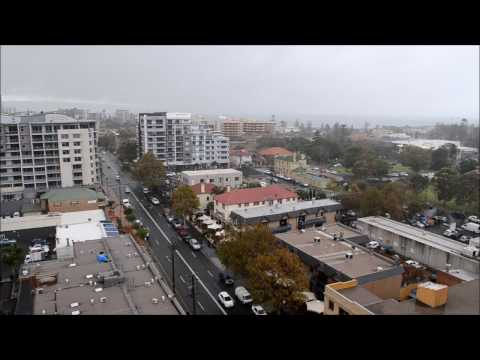 Rainy Day - Wollongong City - Time lapse