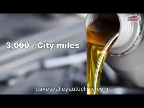 The Importance of Oil Changes - Dave's Valley Auto Clinic