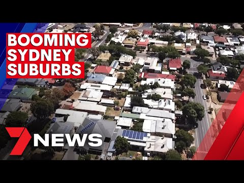 Sydney's booming real estate suburbs revealed   7NEWS